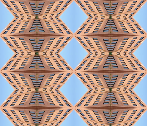 Alexandria Building fabric by mikep on Spoonflower - custom fabric