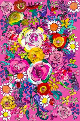 Les Fleurs // Hot Pink