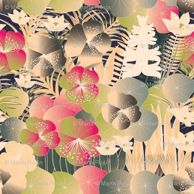 tropical flora cream