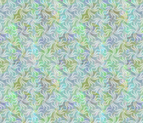 Out of Control Swirley Whirlies fabric by glimmericks on Spoonflower - custom fabric