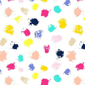 Ink Splatters // Summer Party