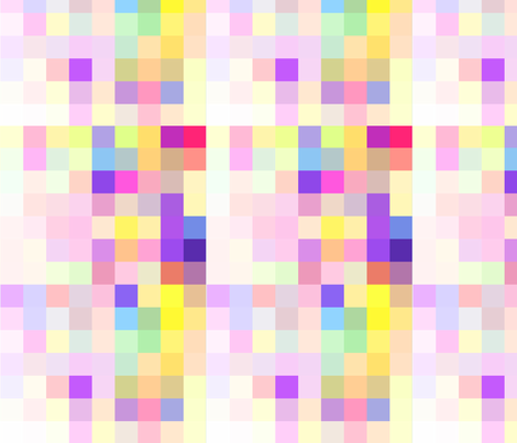 A Pixel Party- Springtime Celebration fabric by theartwerks on Spoonflower - custom fabric
