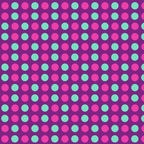 Polka Dots! - Baby Butterfly Purple - © PinkSodaPop 4ComputerHeaven.com fabric by pinksodapop on Spoonflower - custom fabric