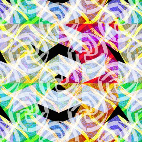 wild_diamonds_zigzag_w_swirls fabric by glimmericks on Spoonflower - custom fabric