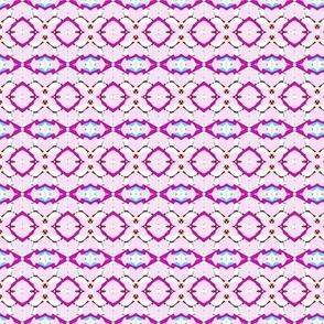 pink circles and stripes