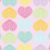 Heart Doily Design