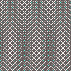 diamond dot net grey aqua