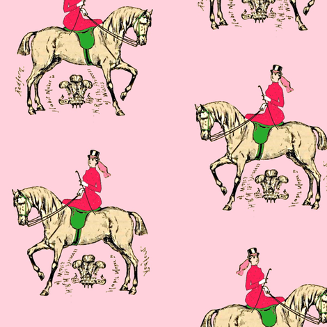In the Pink fabric by ragan on Spoonflower - custom fabric