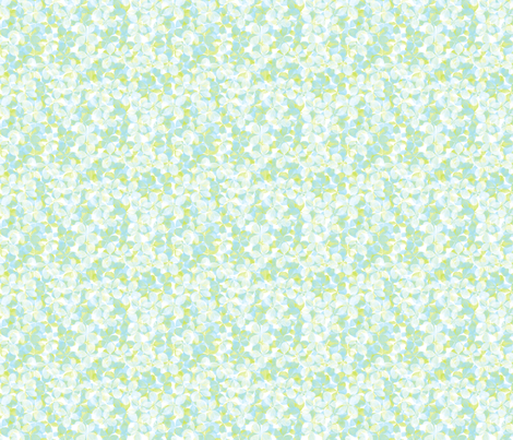 Hydrangea petal scatter fabric by linkolisa on Spoonflower - custom fabric
