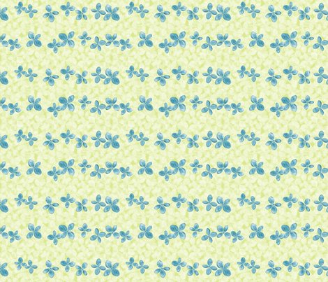 Hydrangea_rows_blue-on-green2_shop_preview