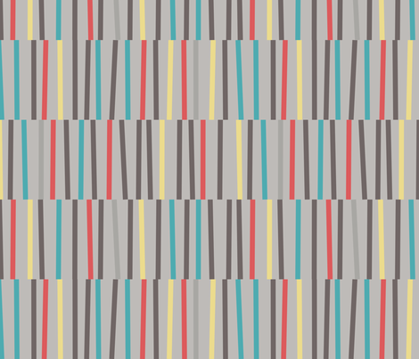 Strips fabric by amandapowell8 on Spoonflower - custom fabric