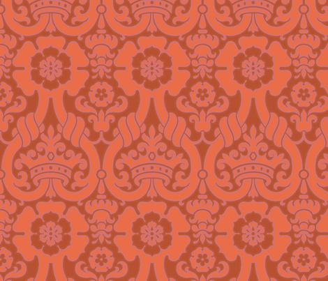 Damask VA1a fabric by muhlenkott on Spoonflower - custom fabric