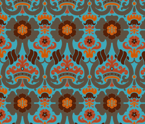 Damask VA1c fabric by muhlenkott on Spoonflower - custom fabric
