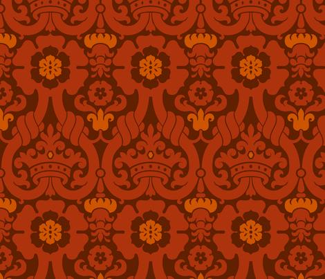 Damask VA1b fabric by muhlenkott on Spoonflower - custom fabric