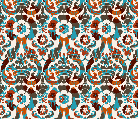 Damask VA1d fabric by muhlenkott on Spoonflower - custom fabric