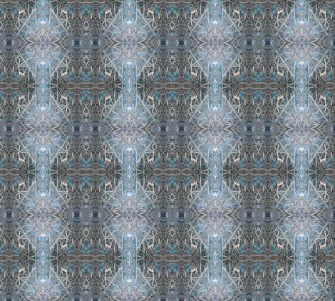 TwinPortalsBlue fabric by sven&tolley on Spoonflower - custom fabric