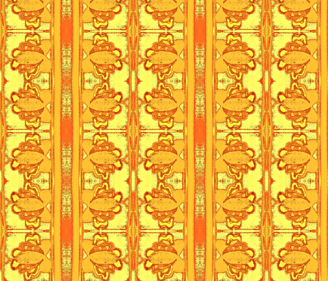 Citrus delight fabric by winterblossom on Spoonflower - custom fabric
