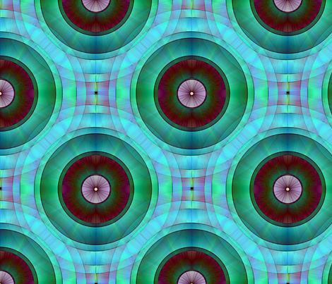 Tree Rings No1 fabric by dlhoward on Spoonflower - custom fabric