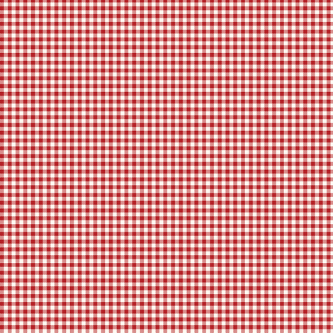 funny_bunny_gingham_red fabric by stacyiesthsu on Spoonflower - custom fabric