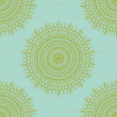 Medallion Seafoam