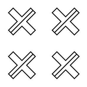 Simple Cut Cross