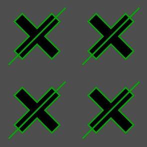 Deep Cut Cross