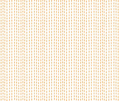 Threads, plain - orange fabric by cameronhomemade on Spoonflower - custom fabric