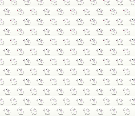 holland lop fabric by hazelhillrabbitry on Spoonflower - custom fabric
