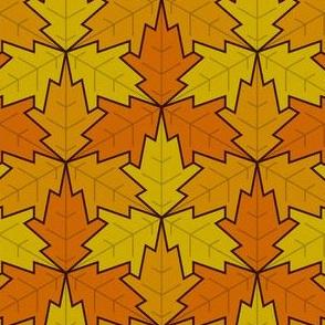 leaf 3x3 autumn / fall