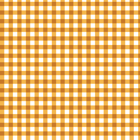 apricot gingham fabric by weavingmajor on Spoonflower - custom fabric