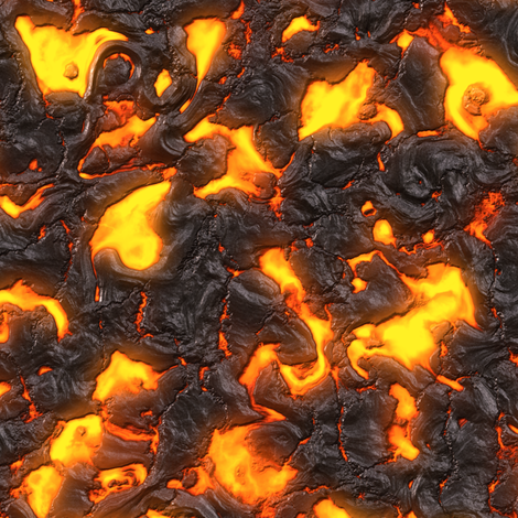 Lava fabric by bonnie_phantasm on Spoonflower - custom fabric