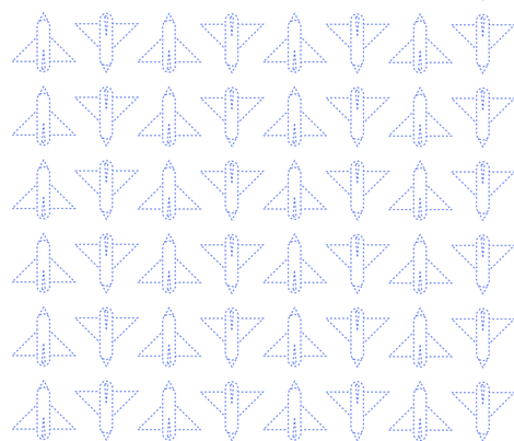 She's Invisible fabric by mona_jo on Spoonflower - custom fabric