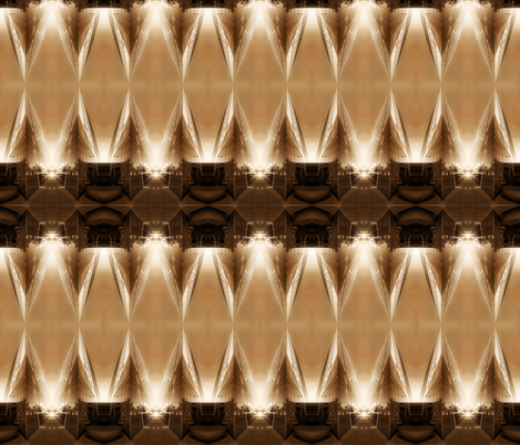 Tower abstract fabric by studiogala on Spoonflower - custom fabric