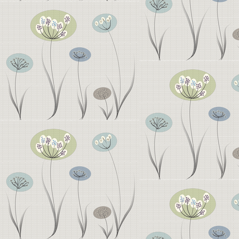 Natural Modern Flowers Leaf Texture Background fabric by anissa_craig on Spoonflower - custom fabric