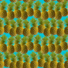 golden pieapple fabric by kociara on Spoonflower - custom fabric