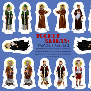 Pocket Saints Plushies : Famous Males PART TWO