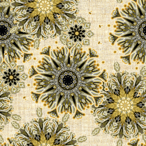 Elegance on linen fabric by joanmclemore on Spoonflower - custom fabric