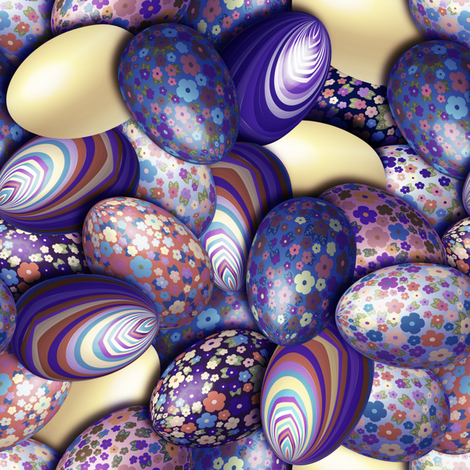 Liberty_Eggs_pastel fabric by vannina on Spoonflower - custom fabric