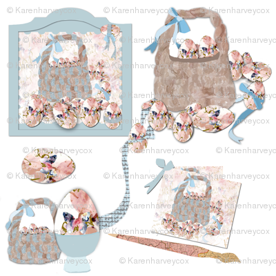 Shabby Chic Easter creations