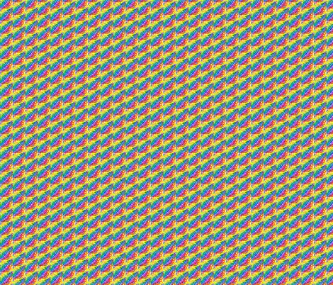 Rainbow Diagonal fabric by ravynscache on Spoonflower - custom fabric