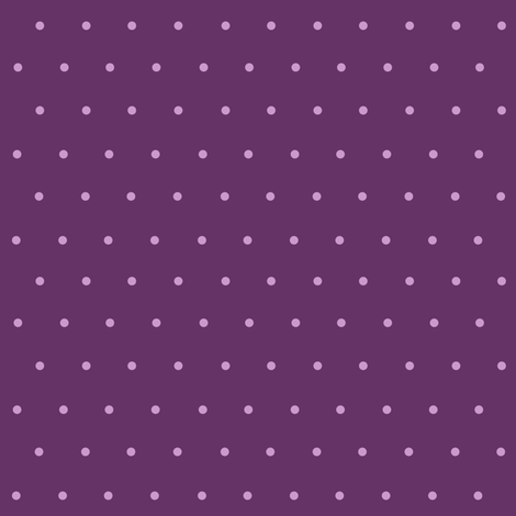 lavender polka dots on purple fabric by krs_expressions on Spoonflower - custom fabric