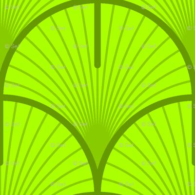 ginko / gingko biloba leaf