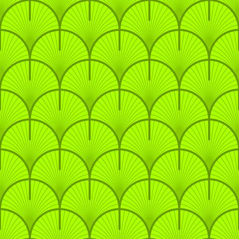 ginko / gingko biloba leaf fabric by sef on Spoonflower - custom fabric