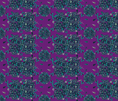 impassioned_purple_teal fabric by glimmericks on Spoonflower - custom fabric
