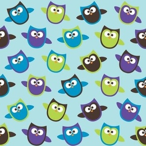 owl_mania_owls_blue
