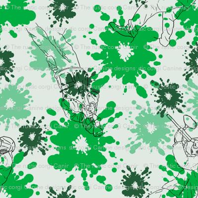 Paintball Warriors - light green