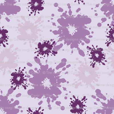 Paintball Splatter - light purple