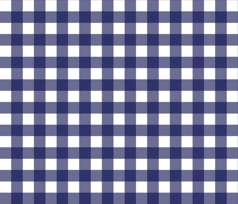 Delft Check fabric by ragan on Spoonflower - custom fabric