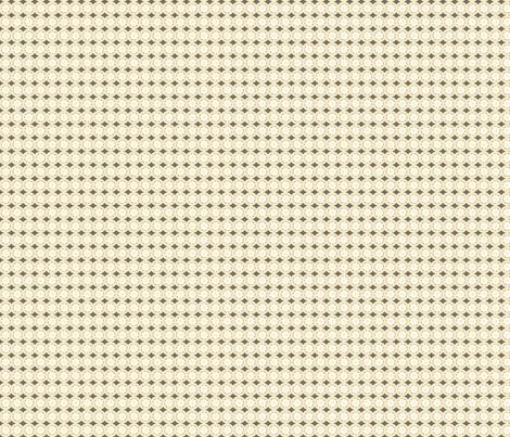 Bankers Daisy: neutral multi fabric by cherryandcinnamon on Spoonflower - custom fabric