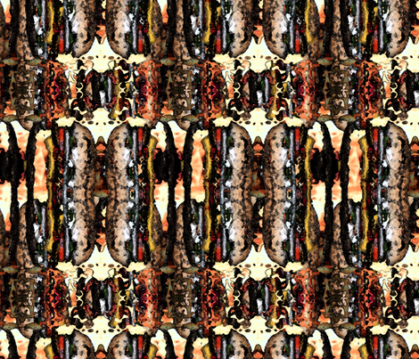 406 - Fast Food fabric by henriyoki on Spoonflower - custom fabric